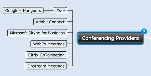 Figure 6. Conferencing providers.
